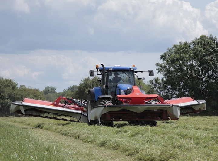 KUHN FC 9530D + FC 3125D F in campo