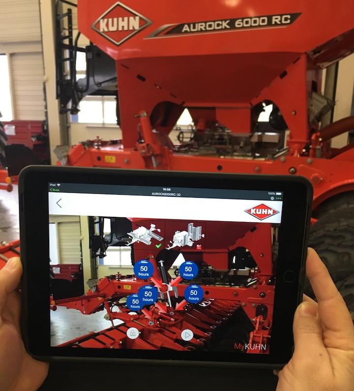 KUHN RedVista in uso sulla seminatrice Aurock 6000 RC