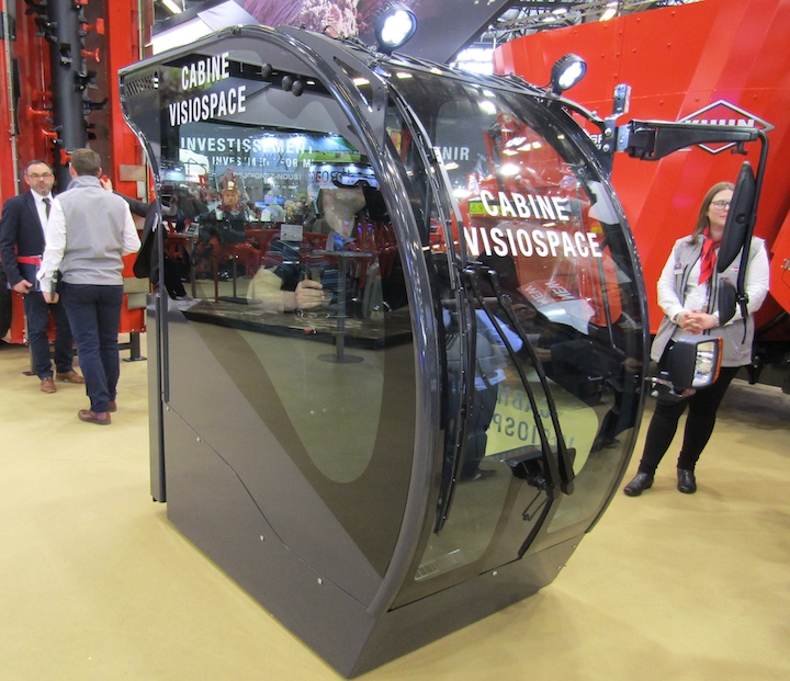 Nuova cabina VisioSpace per i carri KUHN SPV e SPW