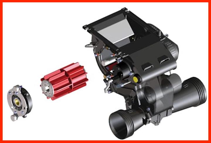 Distributore elettrico Eldos delle KV e-drill