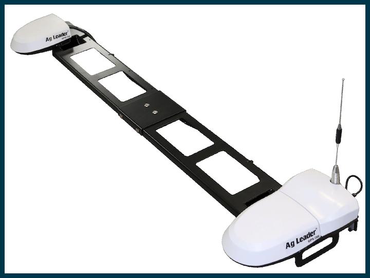 Sistema di guida automatica a doppia antenna Ag Leader DualTrac, offerto da ARVAtec