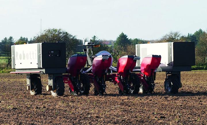 Robot elettrico Robotti di Agrointelli