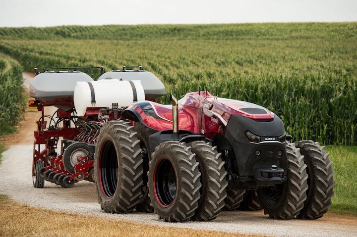 Concept del trattore autonomo Magnum di Case IH