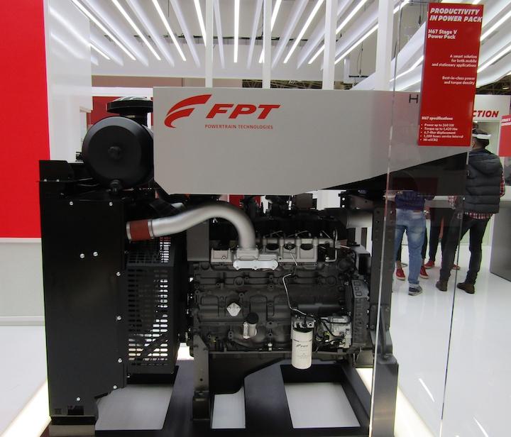FPT Industrial Nef N67 Stage V, motore dei Case IH Optum CVXDrive