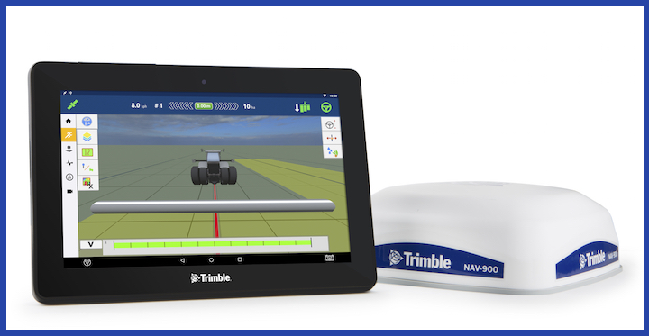 Display GFX-750™ e ricevitore NAV-900 di Trimble