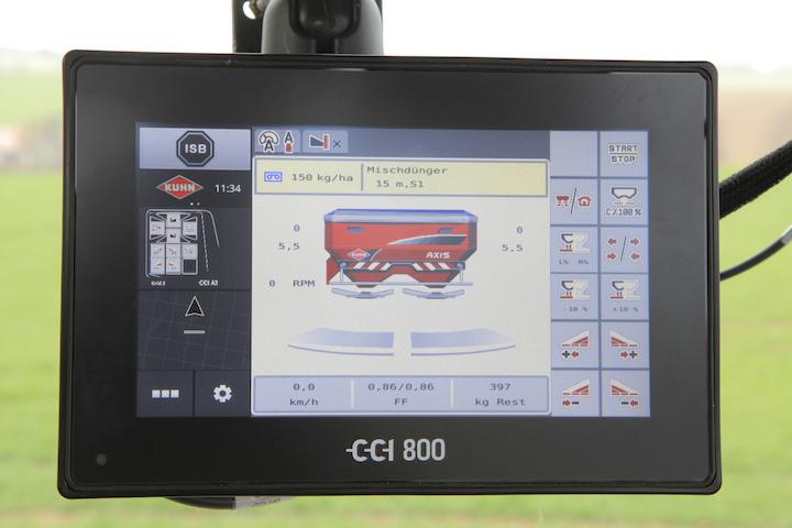 Display Isobus KUHN CCI 800
