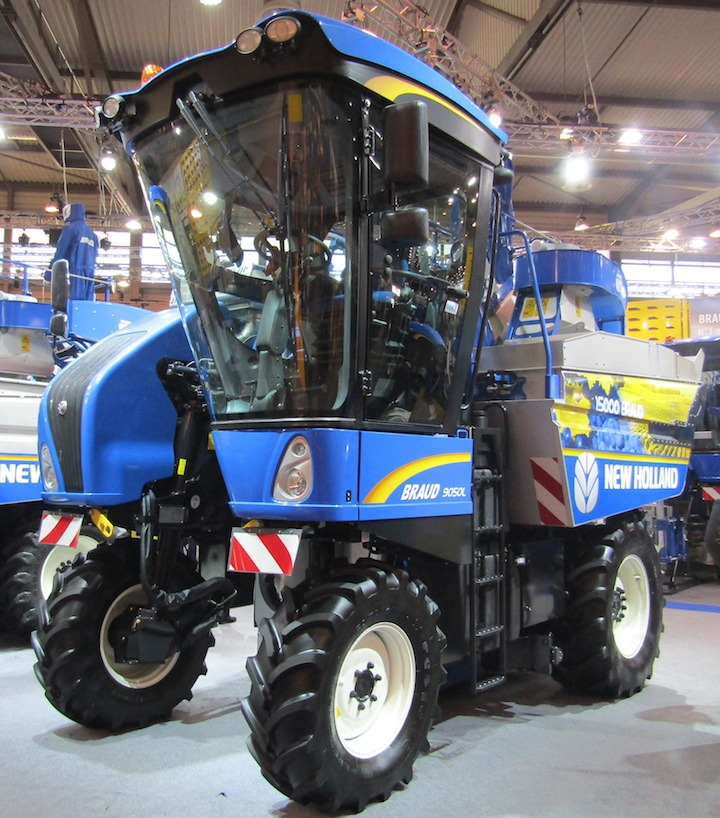 Vendemmiatrice semovente New Holland Braud 9050 L al Sitevi 2017