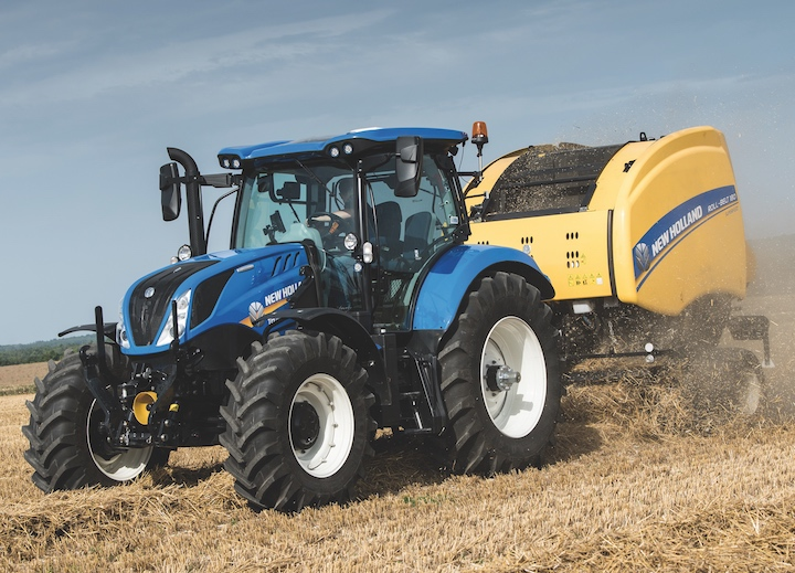 Trattore New Holland T6.175 con trasmissione Dual Clutch Dynamic Command