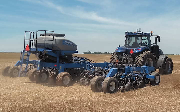 Trattore autonomo T8 NH Drive di New Holland