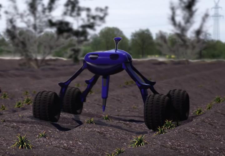 Dick, robot per il diserbo di Small Robot Company