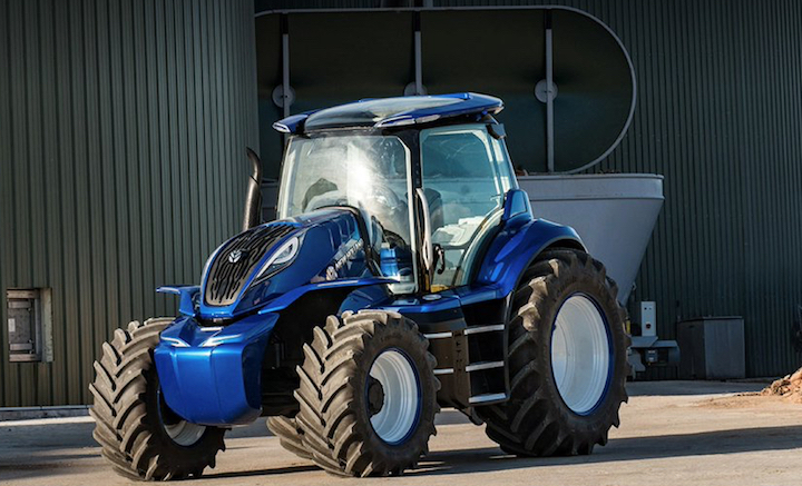 Motore FPT NEF a metano sul concept New Holland Methane Power