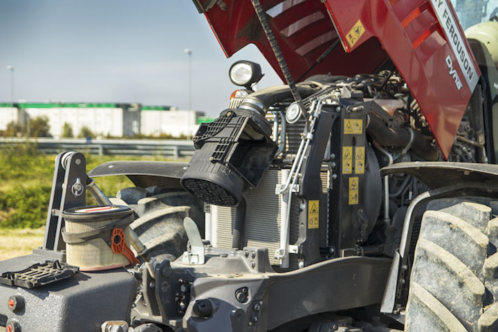 Motore AGCO Power a 4 cilindri da 200 Cavalli con EPM