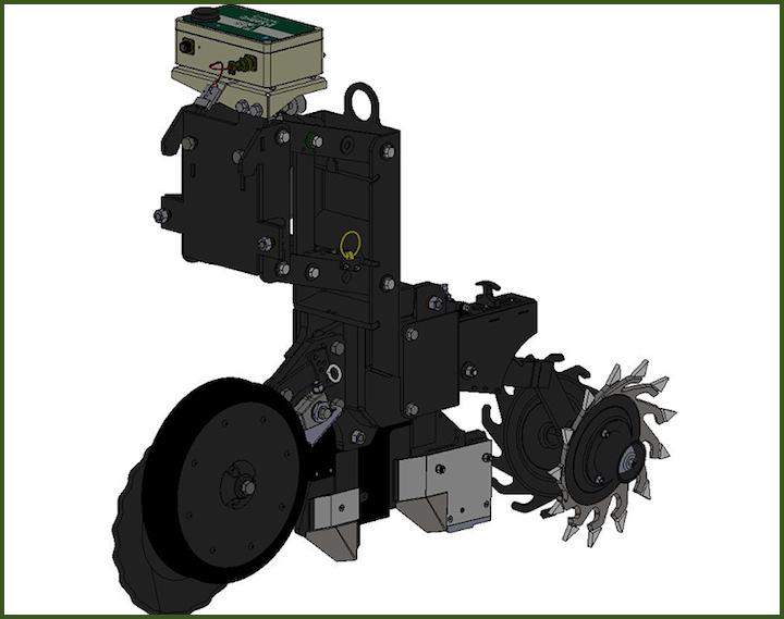 Modulo iScan per la misura della CE e della riflettanza del suolo