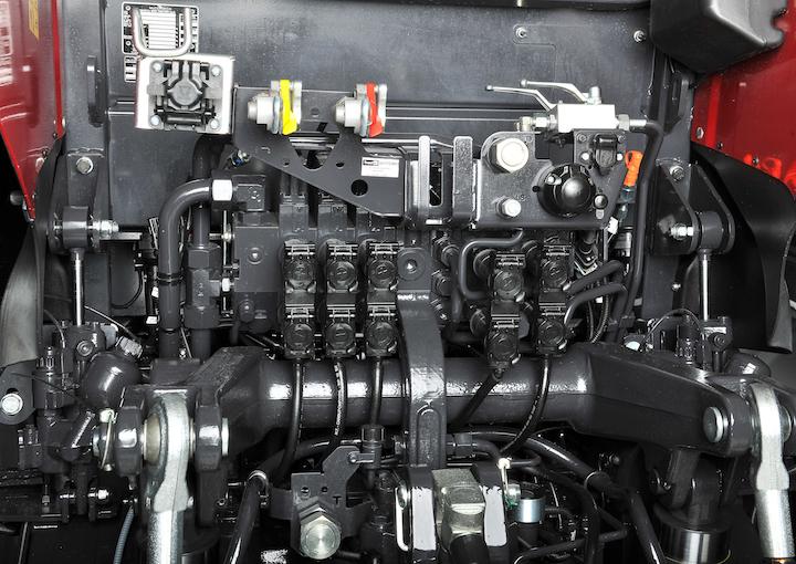 Impianto idraulico dei modelli McCormick X7