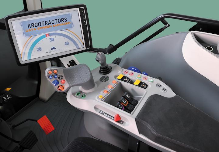 Monitor DSM e bracciolo multifunzione dei McCormick X7