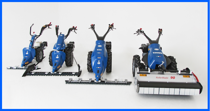 Motofalciatrici BCS PowerSafe®