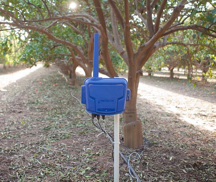 Tecnologia rSense, utilizzata dal sistema Netafim uManage (Fonte foto: © Netafim)