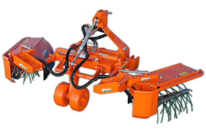 Rinieri Bio-Dynamic con testata spollonatrice SRV