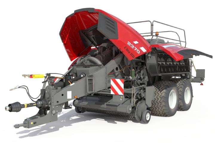 Massey Ferguson ha progettato una macchina facile da manutenere