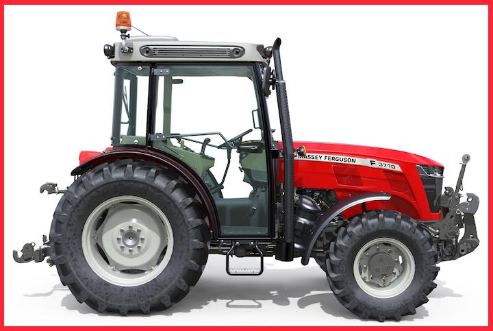 Nuovo trattore Massey Ferguson 3710 F