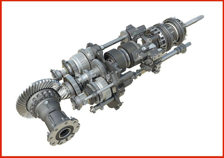 Trasmissione Dual Clutch Dyna E-Power sui trattori MF 8S