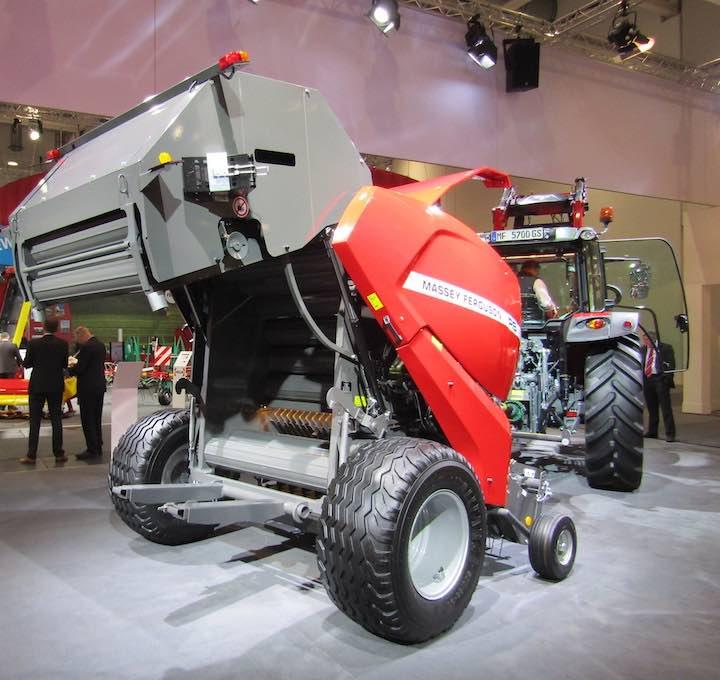 In mostra ad Agritechnica il modello RB 2125 F
