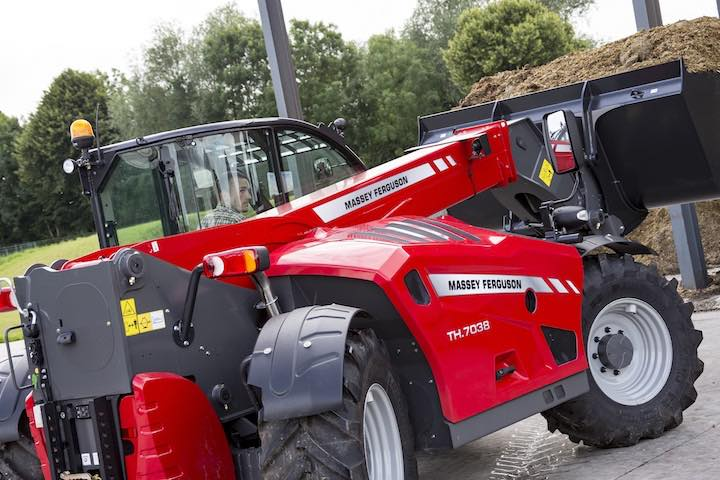 Telescopico TH.7038 di Massey Ferguson