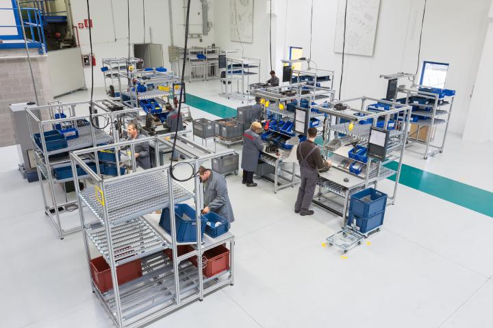 Uno dei reparti di produzione MaterMacc