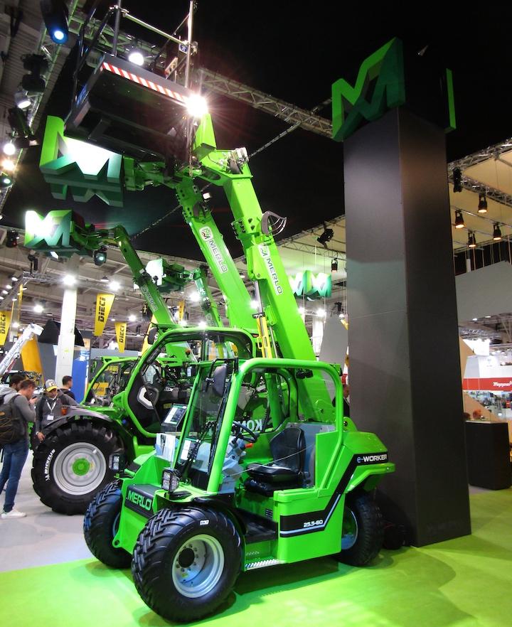 Nuovo Merlo E-Worker 25.5-60 ad Agritechnica 2019