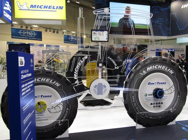 Sistema Michelin Zen@Terra ad Agritechnica 2019