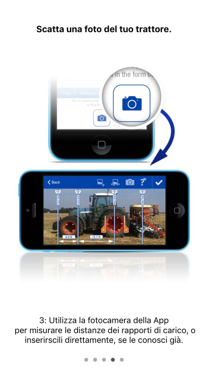 L'app di Michelin permette di calcolare gli sbalzi con una foto