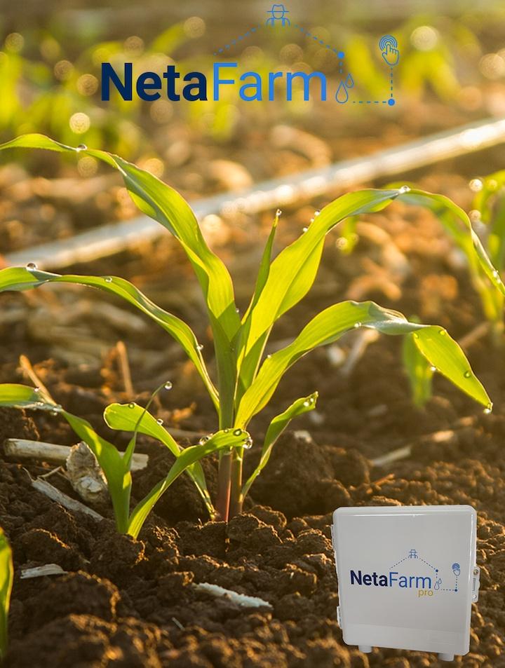 Centralina Netafim NetaFarm programmabile da remoto
