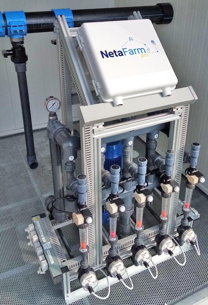 NetaFarm®, sistema ideale per l'irrigazione 4.0