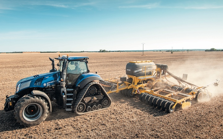 New Holland T8.410 Genesis® in versione SmartTrax