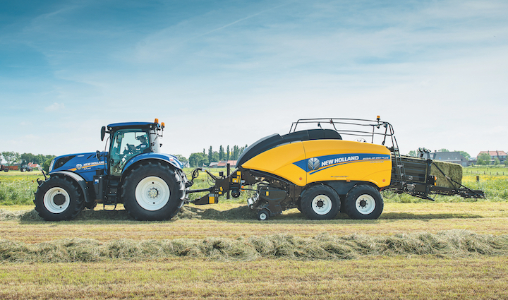 Baler Control System sui T7 di New Holland