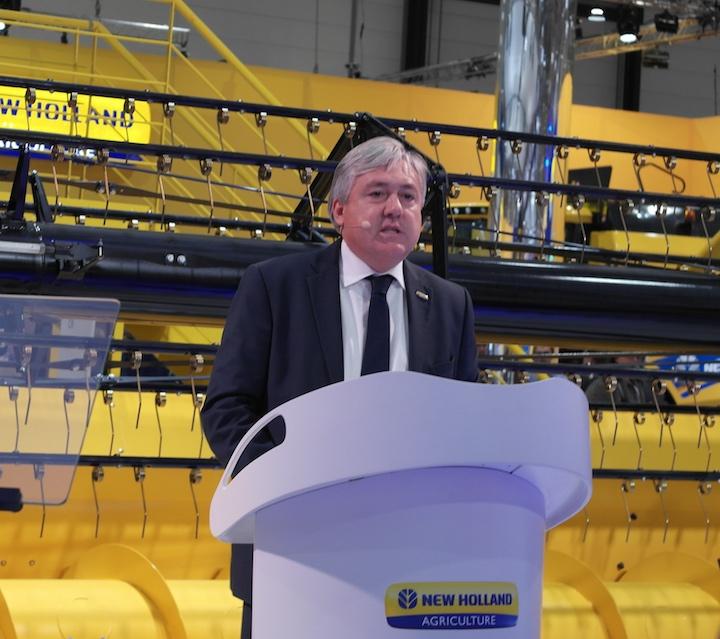 Carlo lambro in conferenza stampa_Agritechnica 2017