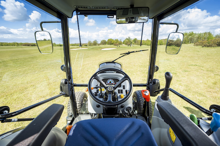 Cabina Boomer Suite™ per i trattori Boomer di New Holland