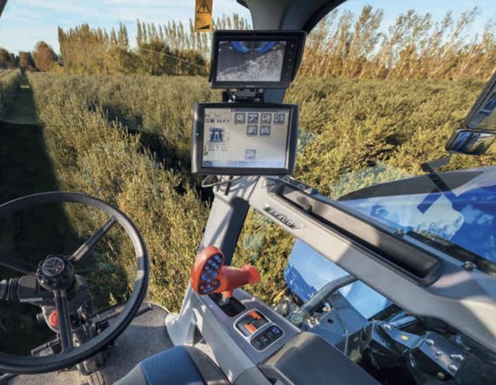 Dotazioni di bordo delle New Holland Braud 10.90X Olives