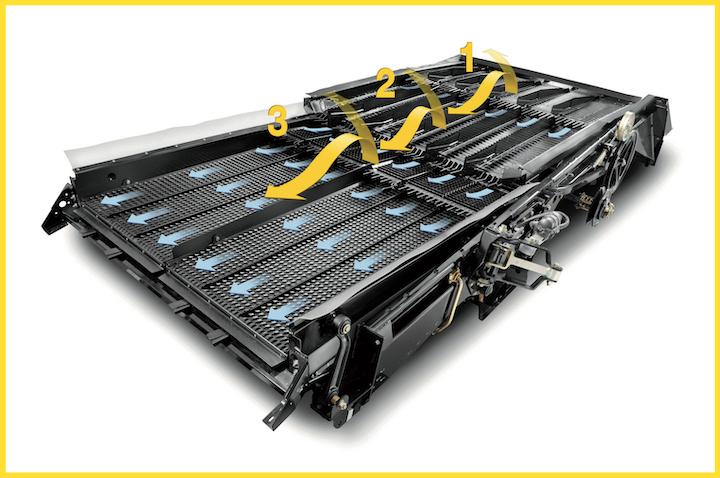 ???????Sistema a tripla cascata Triple-Clean™ della New Holland CH7.70