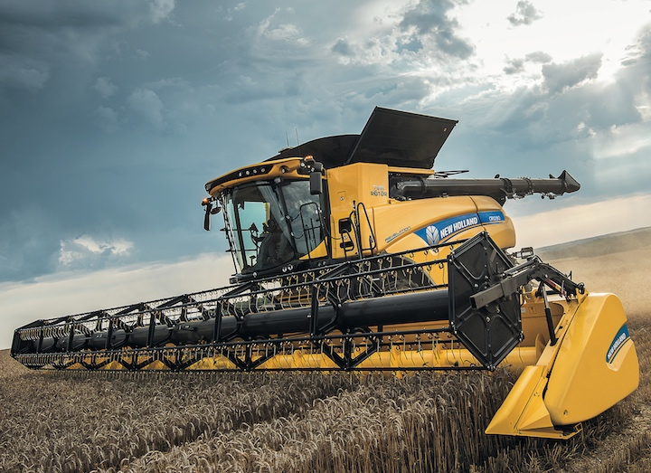 New Holland CR10.90 Revelation con IntelliCruise™ II rivisto