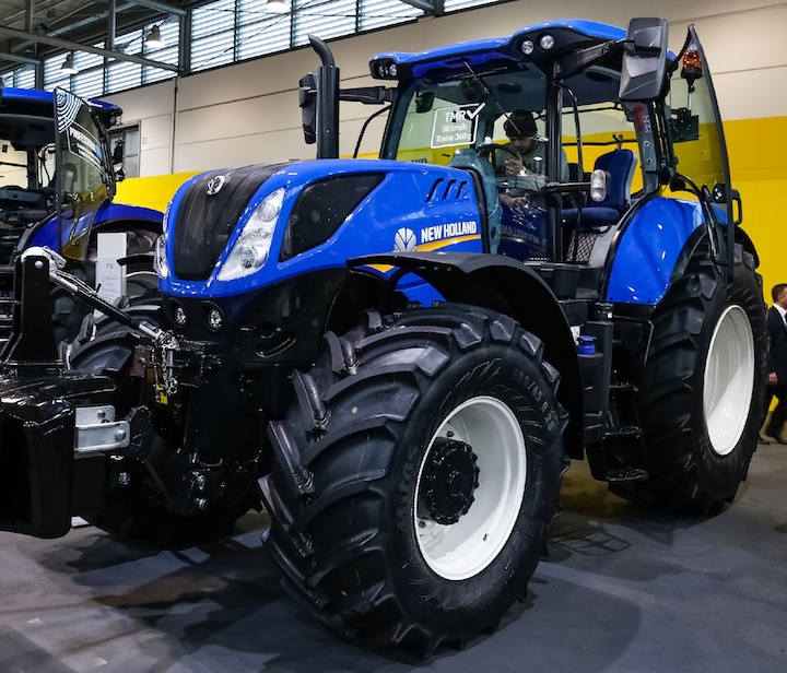 Trattore New Holland T7.195 S a Fieragricola 2018