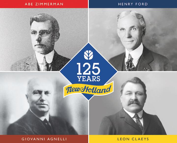 I quattro protagonisti della storia di New Holland