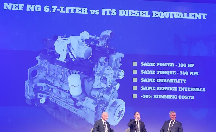 Confronto tra FPT Nef N67 NG e il suo equivalente diesel
