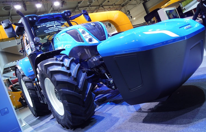 New Holland T6.180 Methane Power con serbatoio Range Extender ad Agritechnica 2019