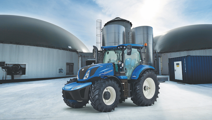 New Holland T6.180 Methane Power con motore Stage V