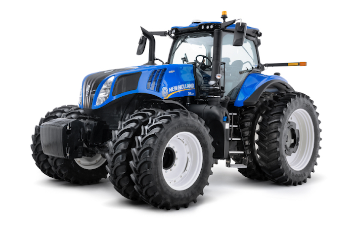 New Holland T8 Genesis® con PLM Intelligence ™