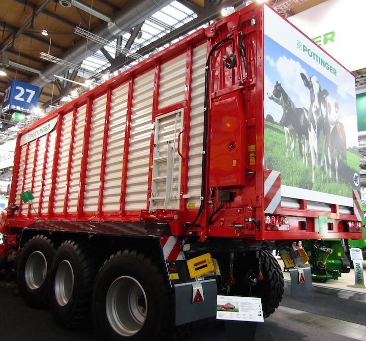 Pöttinger Jumbo 7220 D Combiline ad Agritechnica 2019