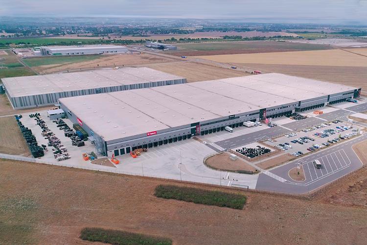 Nuovo centro logistico Bobcat