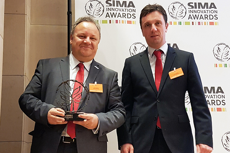 Medaglia di bronzo ai Sima Innovation Awards 2019 per Case IH