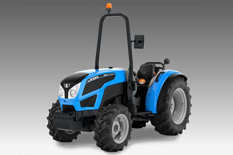 Il baricentro basso e le dimensioni contenute del nuovo Rex 3 lo rendono il trattore ideale per tutte le lavorazioni in serra e su terreni in pendenza